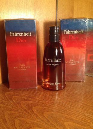 Christian Dior ,,Fahrenheit,,-edt 100ml Vintage