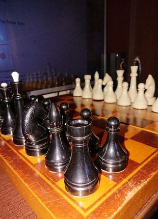 Советские шахматы.