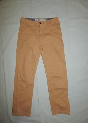 Штаны брюки модные на мальчика 9-10 лет 140 см slim