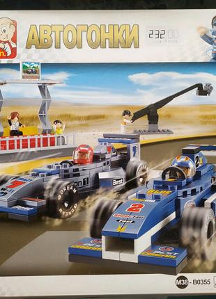 Конструктор Sluban M38-B0355, Формула 1 автогонки 300 деталей