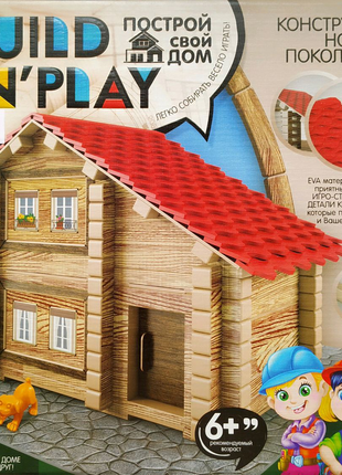 Конструктор «BUILD'N'PLAY» — СТРОЙ и ИГРАЙ!