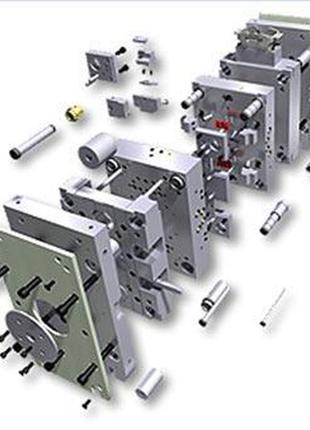 Штампы пресс формы матрицы пуансоны призмы модели промодели ЛГ...