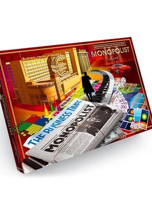 Экономическая игра Danko Toys Монополист (Monopolist Luxe) (Рус)