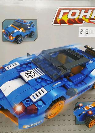 """Конструктор Ausini 3 в 1 """"гонка"""" 25621 ,  317 деталей"""