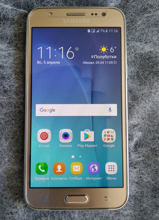 SAMSUNG Galaxy G5 +флешка, стекло, чехол в подарок