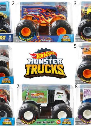 Монстр-траки из металла Hot Wheels, Monster Jam Truck Хотвилс ...