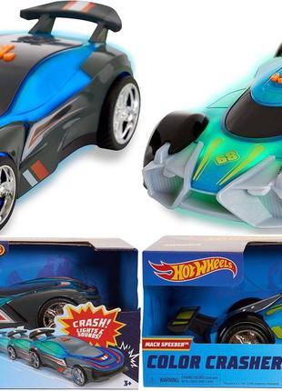 Hot Wheels гоночная машина цвет Race N Crash Хот вилс Color Cr...