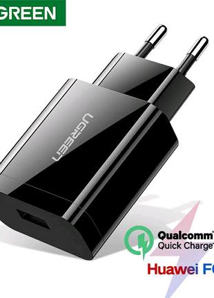 """""""UGREEN"""" QQC 18W. Фирменное быстрое зарядное устройство."""