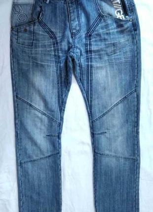 Стильные джинсы! р.34w 34l