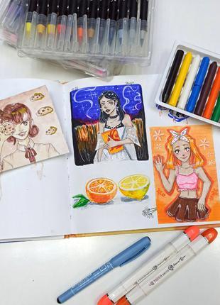 Анимэ: уроки рисования