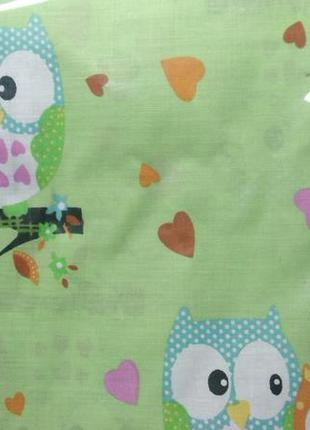 Детский сменный комплект постельного белья в кроватку