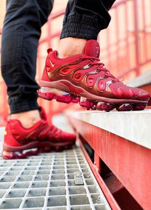 "🔥 Nike Air VaporMax Plus ""Bordo""🔥"