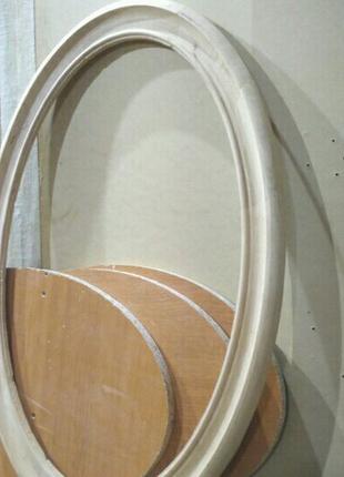 Изготовление идеально точных размеров Рамы овальной формы