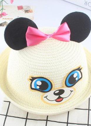 Шляпа летняя для девочки