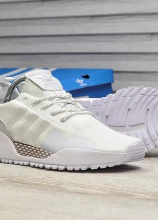 Adidas primeknit white