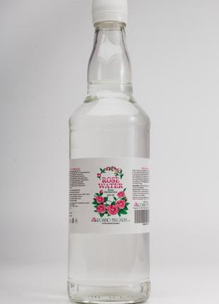 500мл Розовая вода гидролат (Rosa damascena) из Болгарии