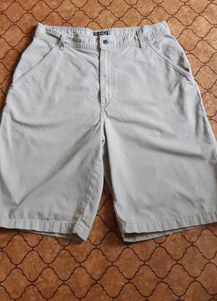 Стильные бежевые шорты polo jeans co. ralph lauren made in mexico