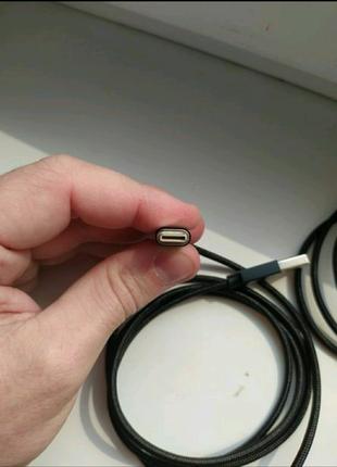 Магнитный зарядный кабель USB Type-C