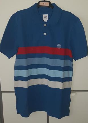 Стильная рубашка поло gap