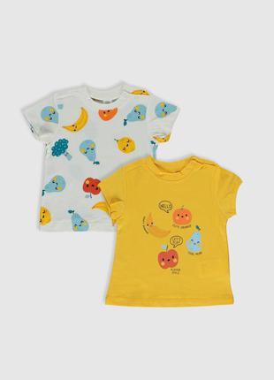 Набор милейших футболок для малыша