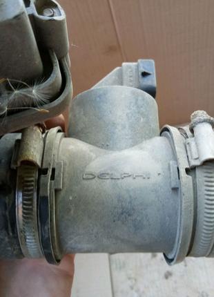 Расходомер воздуха Opel Astra H 2007 1.6 бензин z16xep xer Delphi