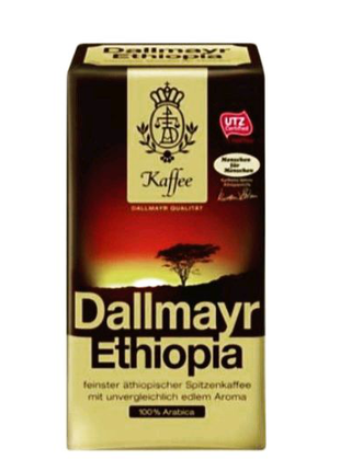 Молотый кофе DALLMAYR ETHIOPIA