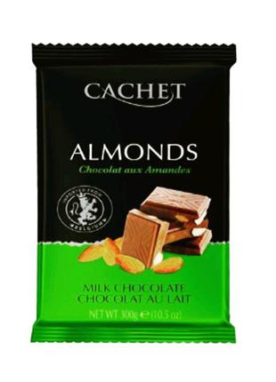 Шоколад Cachet молочний