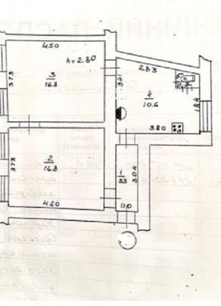 2 комнатная квартира в историческом центре Одессы