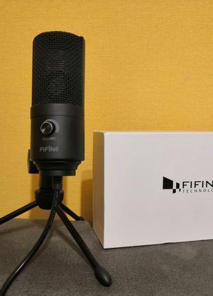 Конденсаторный микрофон Fifine k669. Оригинал. Гарантия