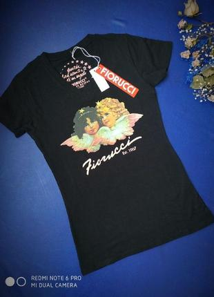 Женская футболка fiorucci итальянский бренд