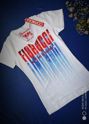 Футболка fiorucci итальянский бренд