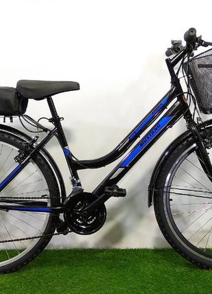 Электровелосипед MUSTANG Новый Черно-синий