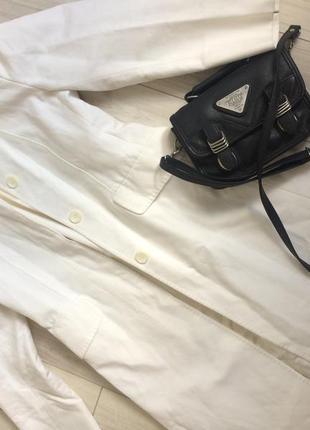 Turnover белое пальто 6-36-38