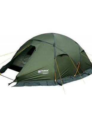 Качество ТОП!!! Четырех местная Палатка Terra  green! Практичная!