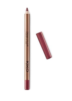 Стойкий карандаш для губ creamy colour comfort lip liner kiko ...