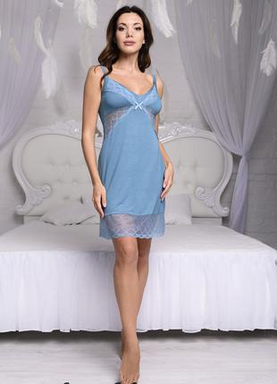 """Женская ночная сорочка с кружевом """"Versale"""" (60509) арт 1032"""