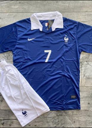 Скидка акция костюм спортивный летний сине-белый шорты футболка