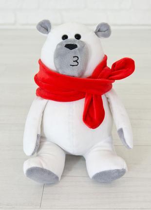Мягкая игрушка Kidsqo медведь Маршмеллоу 20см белый