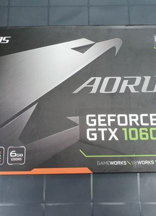 Видеокарта Aorus Geforce GTX 1060 6 ГБ