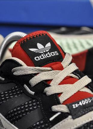 Кроссовки мужские  adidas zx4000 red beige