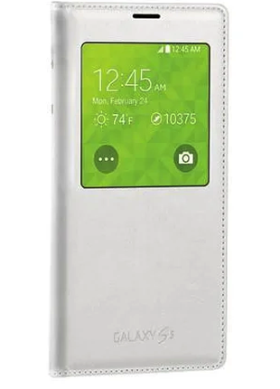 Чехол Samsung Galaxy S5 G900 S-View EF-CG900BWESTA