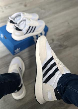 Кроссовки мужские  adidas iniki white