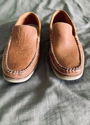 Чоловічі мокасіни Clarks - туфлі, лофери, броги 42-43-44 р