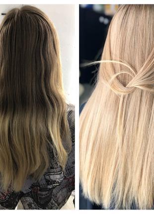-20% скидка на окрашивание волос, ботокс, кератин