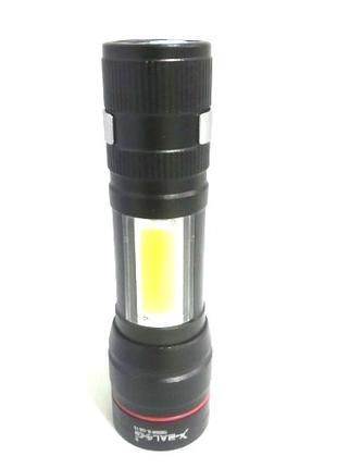 Светодиодный фонарь POLICE BL 520 Q5 99000W фонарик 300 Lumen USB