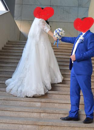 Свадебное платье 54-56 размер