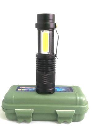 Светодиодный фонарь POLICE BL 525 Q5 99000W фонарик 300 Lumen USB