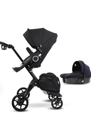 DSLand Xplory V8/ Stokke новая детская коляска 2в1