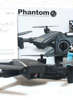 Квадрокоптер трансформер Phantom D5HW c WiFi и камерой