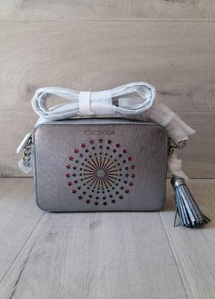 Эксклюзивная сумка кроссбоди майкл корс michael kors ginny cam...